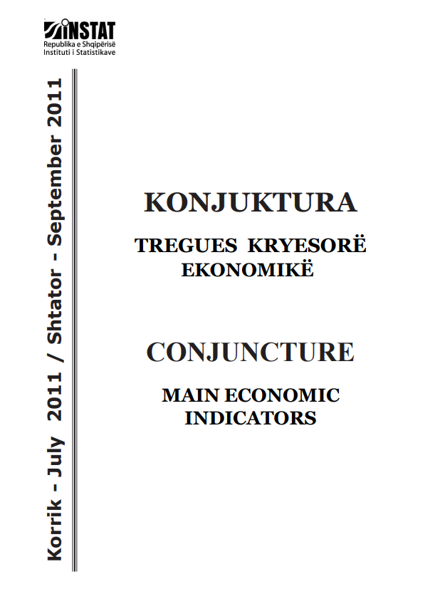 Conjucture, Main Economic Indicators, July-September 2011